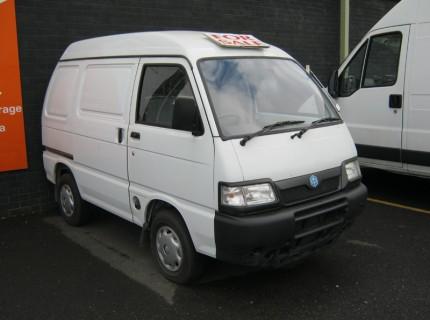 New Piaggio Porter Van