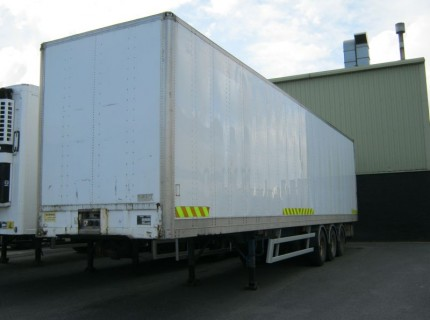 Tri-Axle Box Van Nearly always in Stock – And Fully CVRT Tested